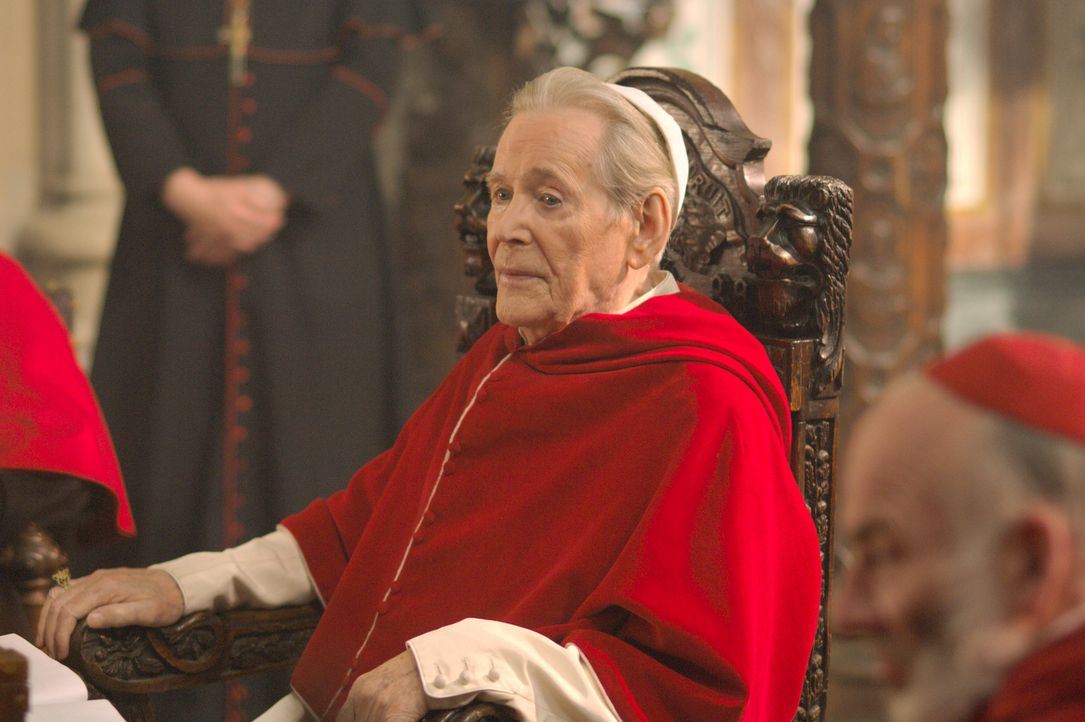 Sogar Papst Paul III (Peter O'Toole) schreckt vor Intrigen nicht zurück ... - Bildquelle: 2008 TM Productions Limited and PA Tudors II Inc. All Rights Reserved.
