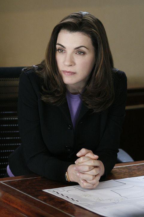 (1. Staffel) - Lässt sich weder von familiären noch von beruflichen Problemen aus dem Konzept bringen: Alicia Florrick (Julianna Margulies) ... - Bildquelle: CBS Studios Inc. All Rights Reserved.