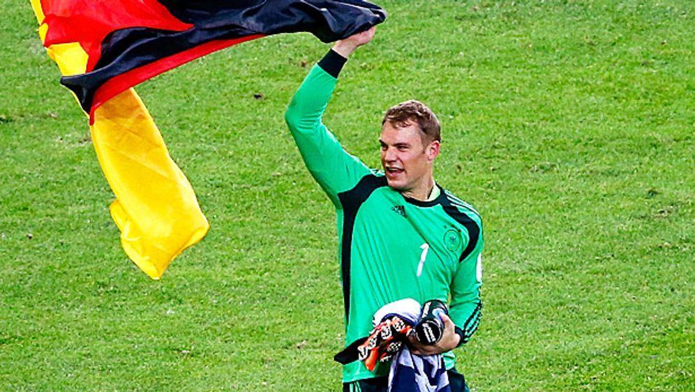 Manuel Neuer kassierte bei dem WM lediglich vier Gegentore - Bildquelle: Getty