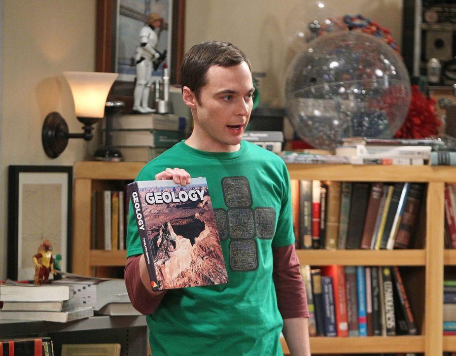 Nach einer bahnbrechenden wissenschaftlichen Entdeckung, an der er nicht beteiligt war, beginnt Sheldon (Jim Parsons) daran zu zweifeln, ob seine ei... - Bildquelle: Warner Brothers