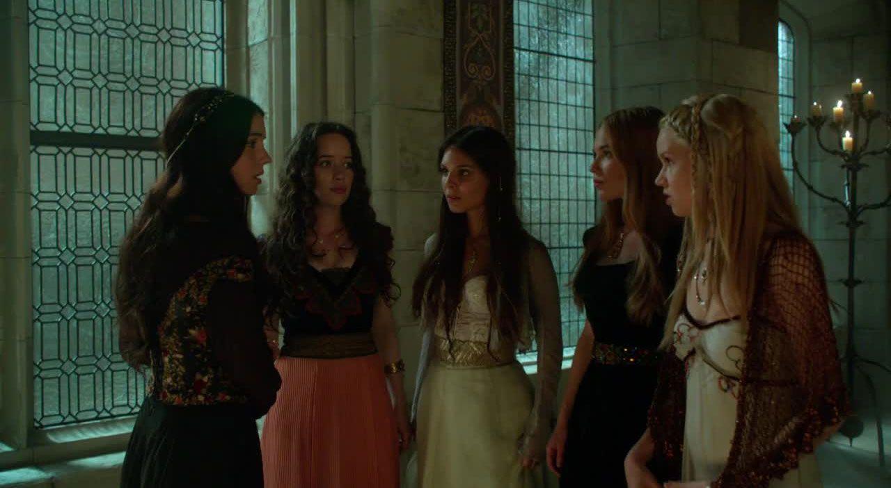 Die Mädchen beraten sich - Bildquelle: 2014 The CW Network. All Rights Reserved.
