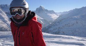 Der beste Schutz auf der Piste, besonders wenn Sie gerade erst Skifahren lern...