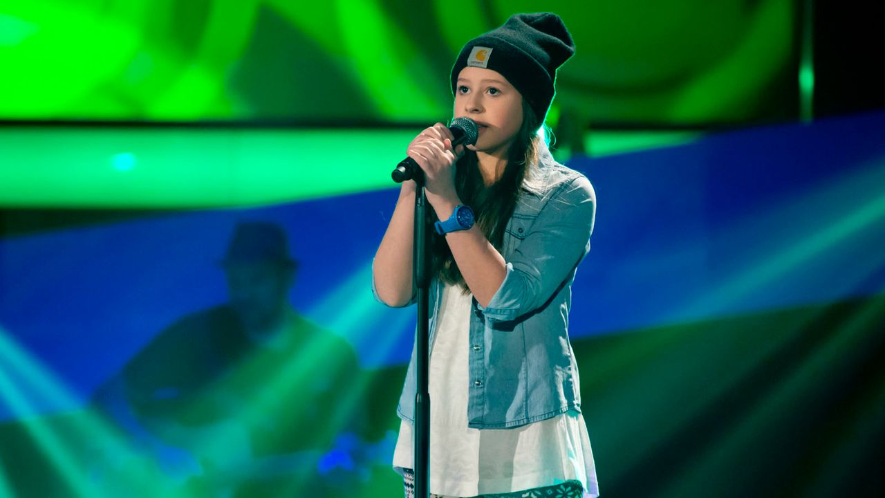 The-Voice-Kids-s01e02-Lisa-13 - Bildquelle: SAT.1/Richard Hübner