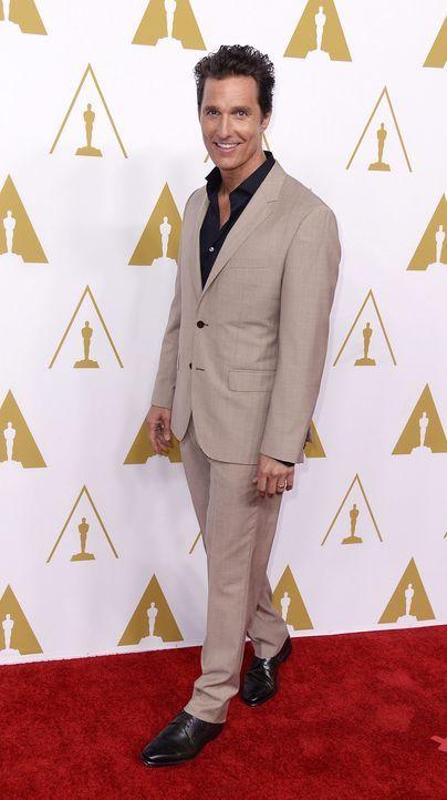 Oscars-Luncheon-Matthew-McConaughey-14-02-10-dpa - Bildquelle: dpa