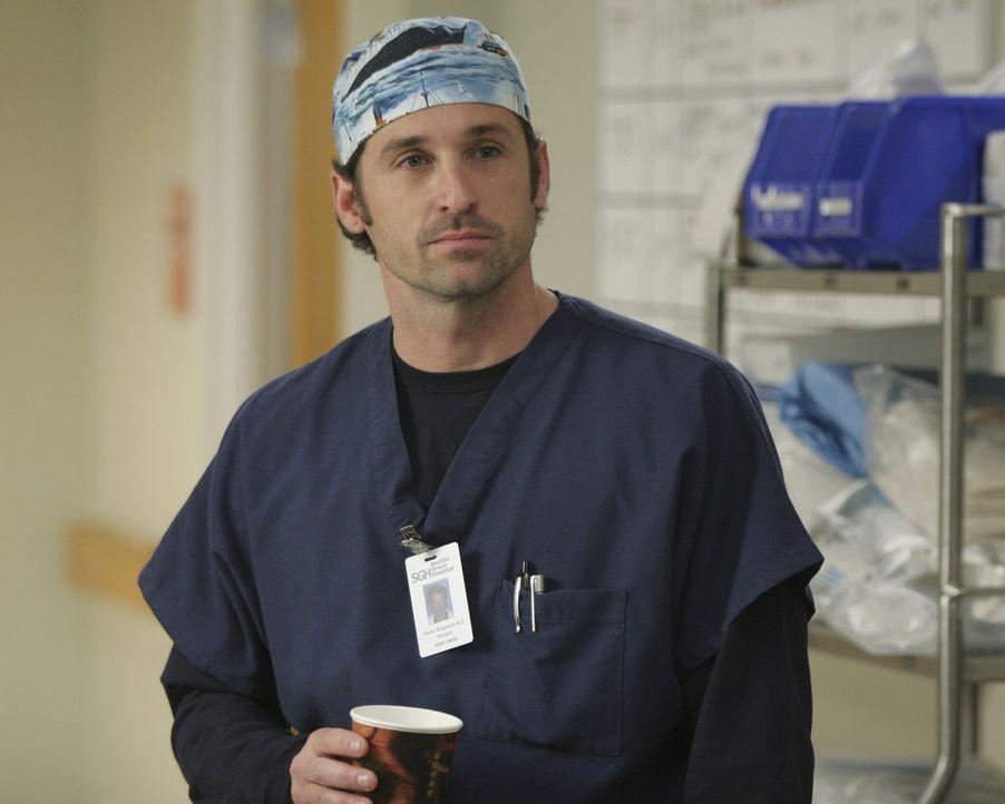 Bei der Visite bevorzugt Derek (Patrick Dempsey) Meredith, doch nachdem Bailey ihm klar macht, dass sie das mit besonders harter Behandlung bei Mere... - Bildquelle: Touchstone Television