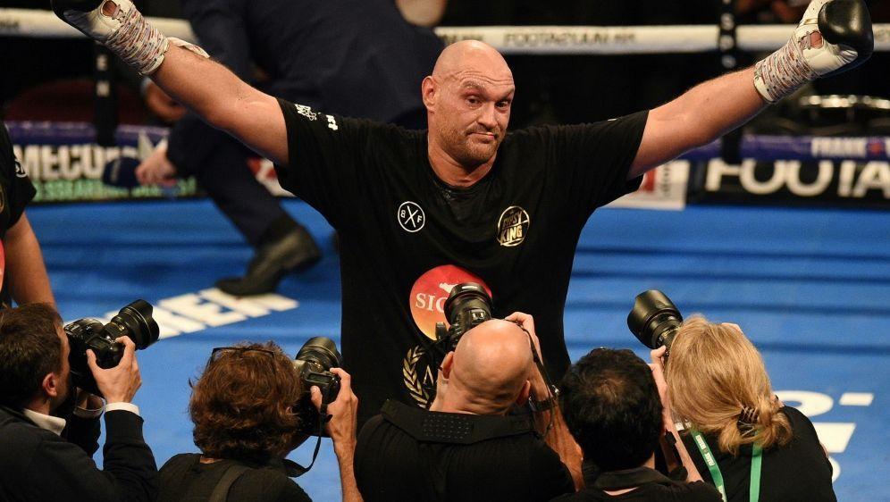 Fury kämpft gegen Deutsch-Italiener Pianeta - Bildquelle: AFPSIDOLI SCARFF
