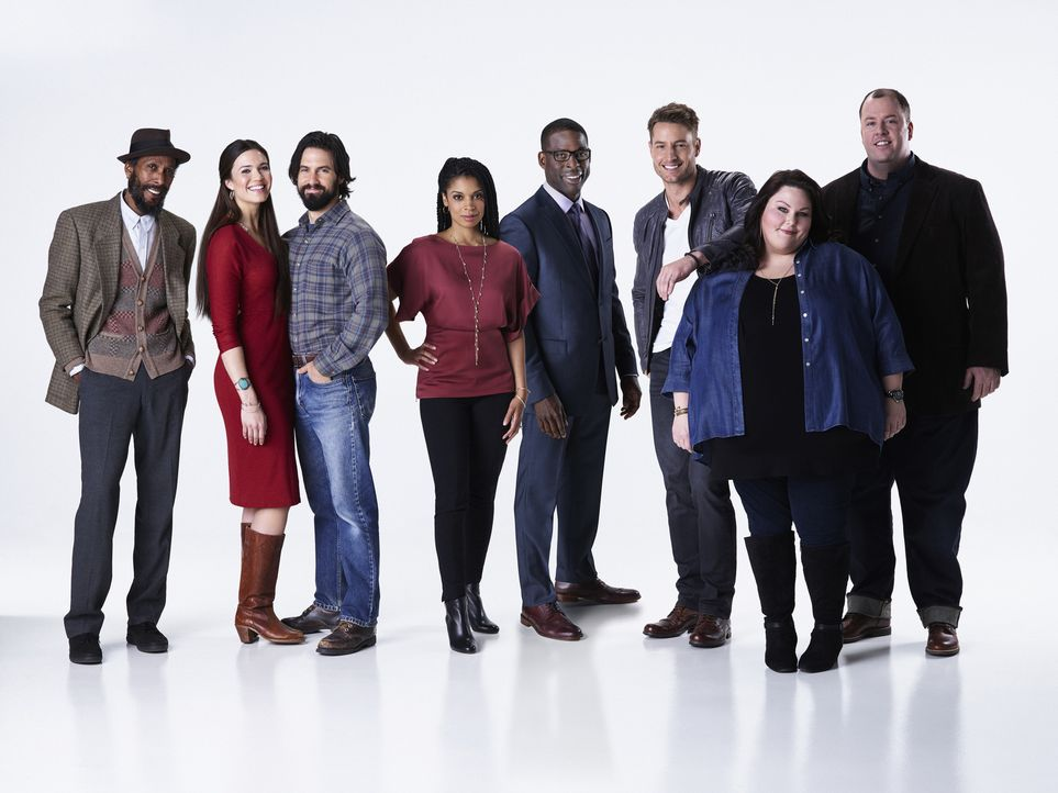 (1. Staffel) - THIS IS US: (v.l.n.r.) William (Ron Cephas Jones), Rebecca (Mandy Moore), Jack (Milo Ventimiglia), Beth (Susan Kelechi Watson), Randa... - Bildquelle: Chris Haston 2016-2017 Twentieth Century Fox Film Corporation.  All rights reserved.   2017 NBCUniversal Media, LLC.  All rights reserved.