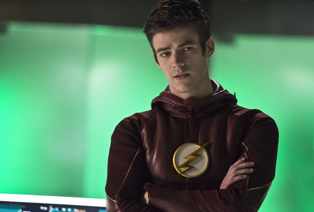 Während Barry alias The Flash (Grant Gustin) in Star City nach Hilfe im Kampf gegen einen mysteriösen Mann sucht, trifft Patty in Central City eine... - Bildquelle: 2015 Warner Brothers.