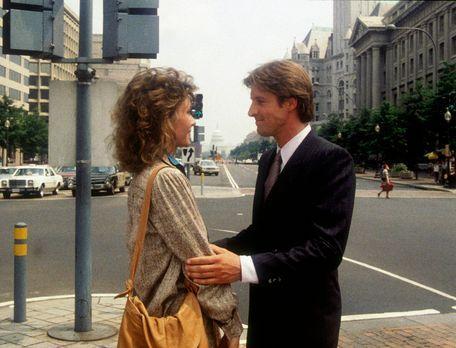 Agentin mit Herz - Lee (Bruce Boxleitner, r.) versucht, Amanda (Kate Jackson,...