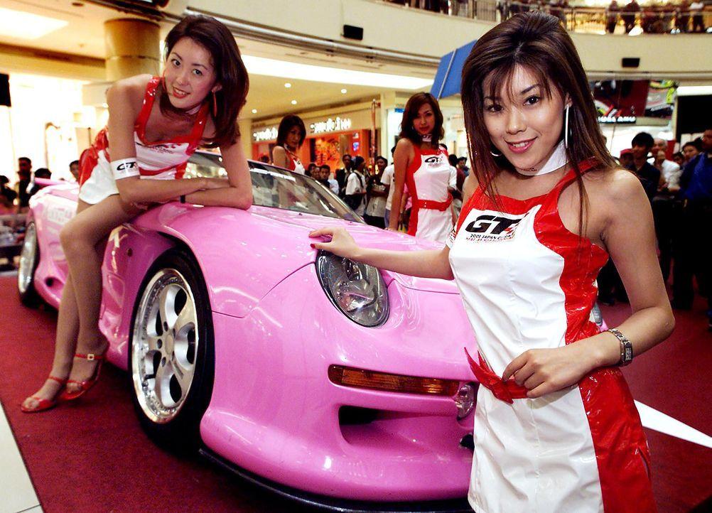 Japan-GT-race-Porsche-010616-AFP - Bildquelle: AFP