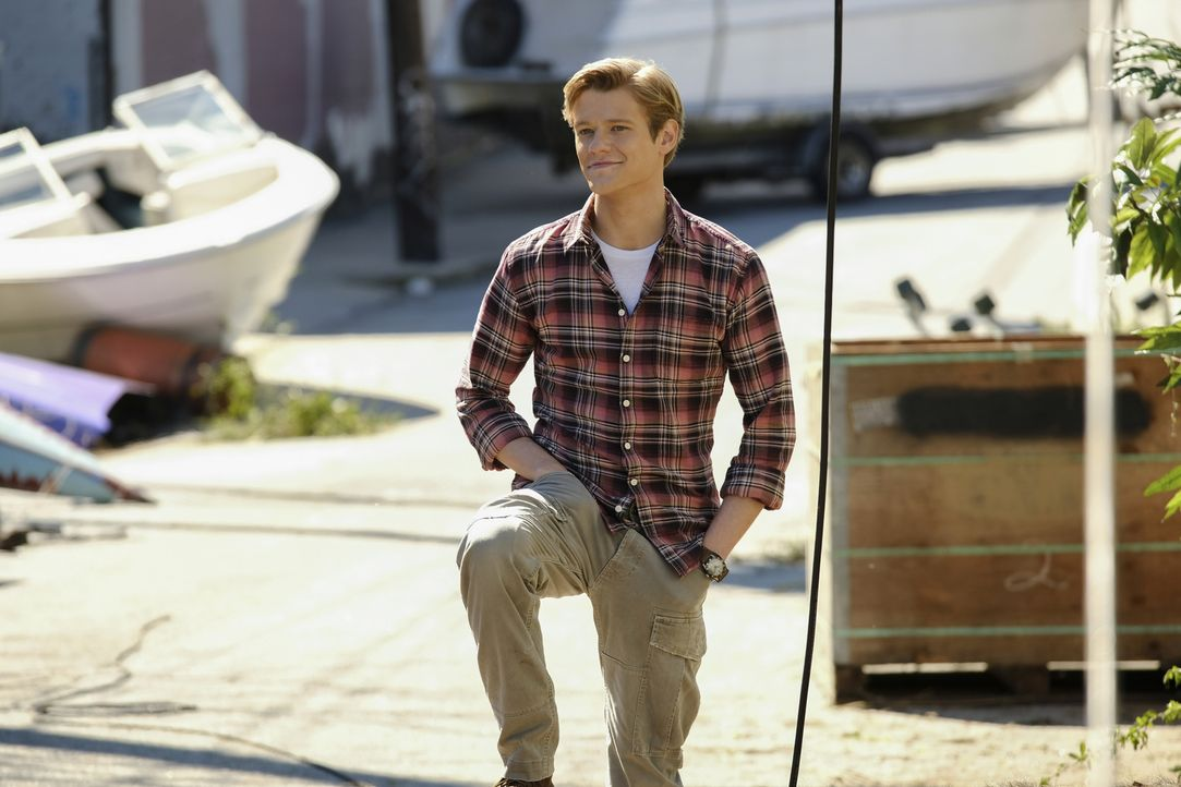 Angus MacGyver (Lucas Till) - Bildquelle: Guy D'Alema Guy D'Alema/CBS   2018 CBS Broadcasting, Inc. All Rights Reserved.