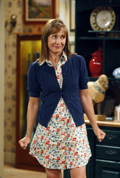 Sheldon kommt mit den religiösen, unwissenschaftlichen Ansichten seiner Mutter Mary (Laurie Metcalf) nicht klar ... - Bildquelle: Warner Bros. Television