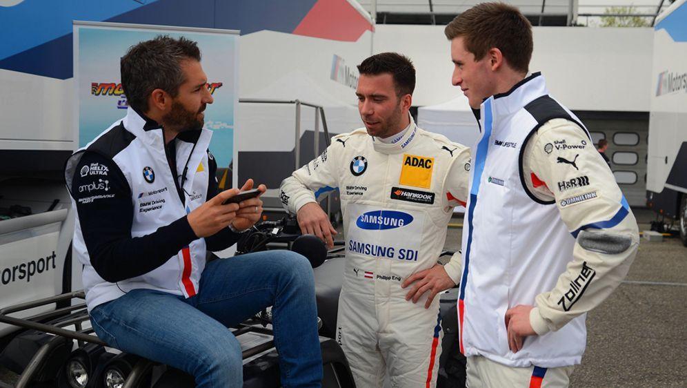 Timo Glock (li.), Philipp Eng (Mi.) und Joel Eriksson (re.) hoffen auf einen... - Bildquelle: imago/Hartenfelser