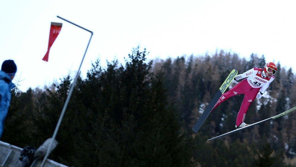 Olympiasieger Eric Frenzel springt auf 126 Meter - Bildquelle: PIXATHLONPIXATHLONSID