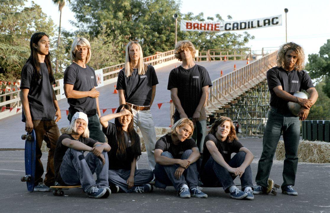 Sie kommen aus Dogtown, einem heruntergekommenen Viertel im kalifornischen Venice, und prägten in den 70ern die revolutionäre neue Trend-Sportart... - Bildquelle: 2005 Columbia Pictures Industries, Inc. All Rights Reserved.