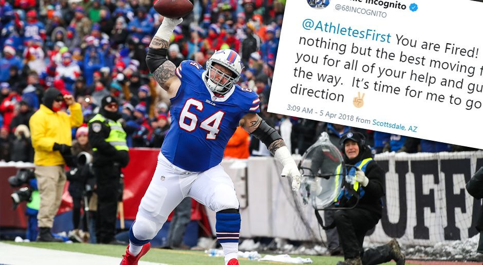 Richie Incognito feuert Berater via Twitter - Bildquelle: Getty Images / Twitter@68incognito