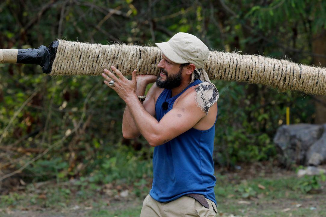 Global Gladiators Manuel Cortez - Bildquelle: ProSieben/Richard Hübner