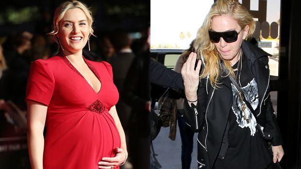 Top: Kate Winslet+++Flop: Madonna - Bildquelle: Lia Toby-WENN.com / revolutionpixx-WENN.com