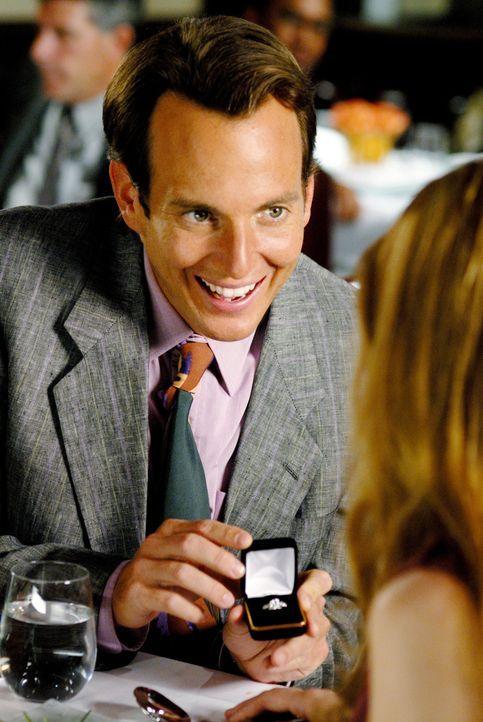 So richtig will es mit den Frauen nicht hinhauen: John (Will Arnett, l.) macht gleich beim ersten Treffen einen Heiratsantrag und wundert sich dann,... - Bildquelle: 2007 Revolution Studios Distribution Company, LLC. All Rights Reserved