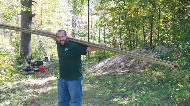 Nate Herman liebt seinen Job. Auch das aktuelle Projekt eine Festung für die...