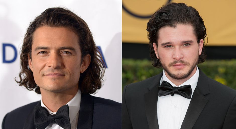 Orlando Bloom und Kit Harrington - Bildquelle: WENN.com
