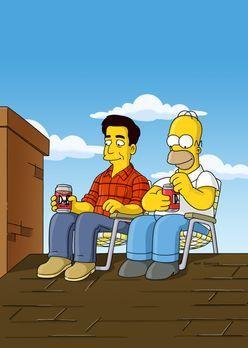 Die Simpsons - Das Dach der Simpsons hat ein Loch, und Marge verlangt, dass H...