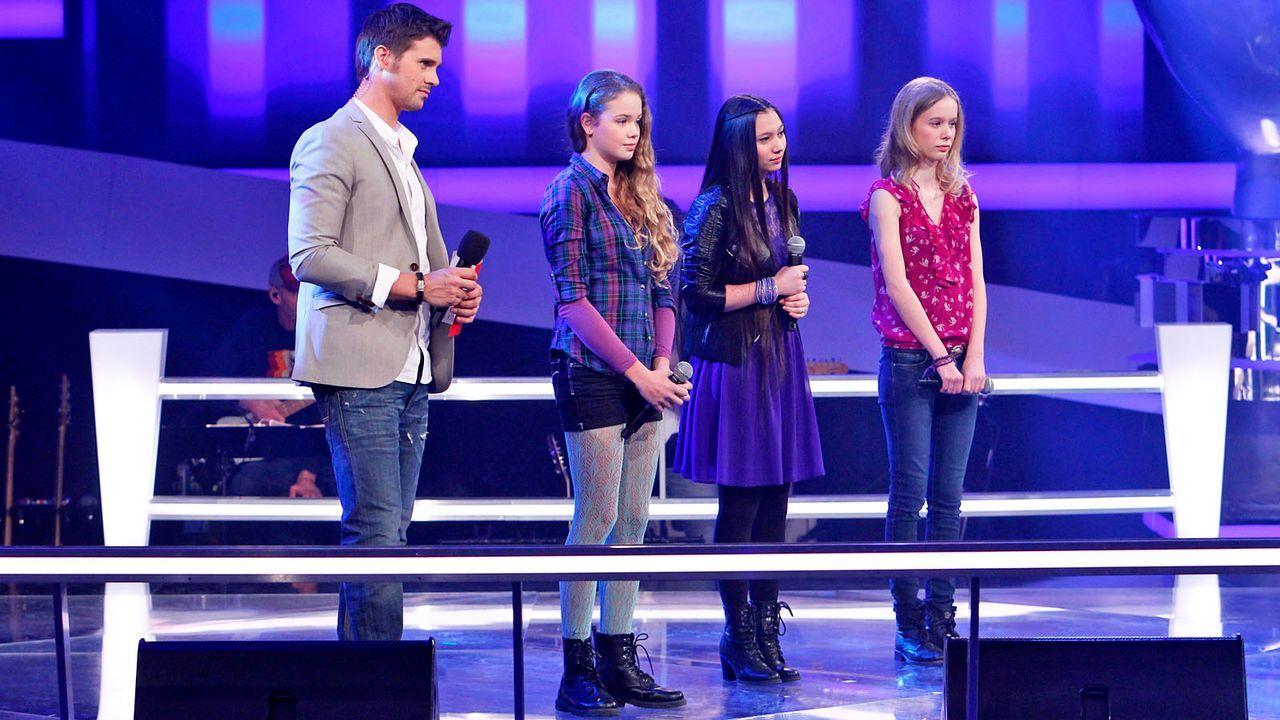 The-Voice-Kids-epi04-LaraMarie-Hannah-Kieu-26-SAT1-Richard-Huebner - Bildquelle: SAT.1/Richard Hübner
