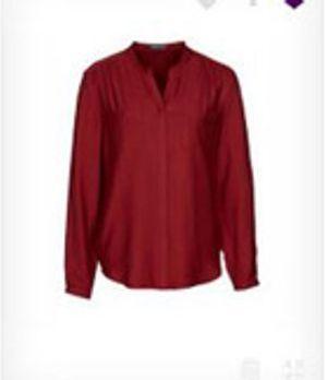 Kräftige Farbe für den Herbst - das blutrote Hemd von Zoe!