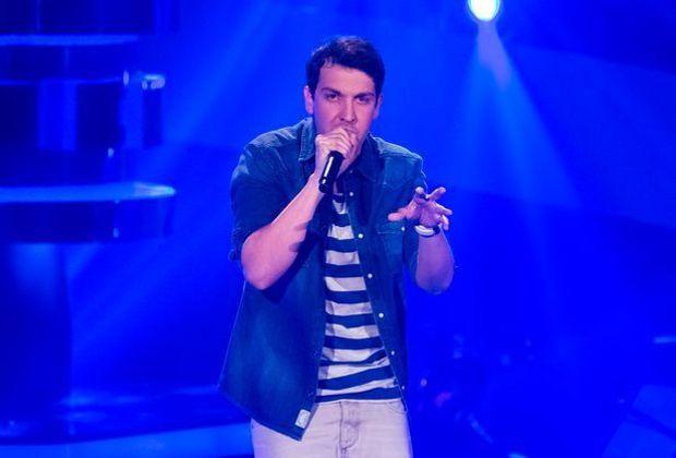 Nico Gomez bei The Voice of Germany