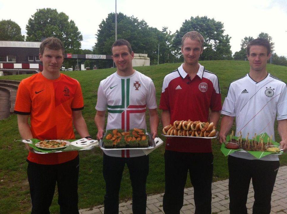 Zur Fußball-Europameisterschaft starten wir einen Snack-Battle. Deutschland tritt kulinarisch gegen seine Gruppengegner Portugal, Holland und Däne... - Bildquelle: kabel eins