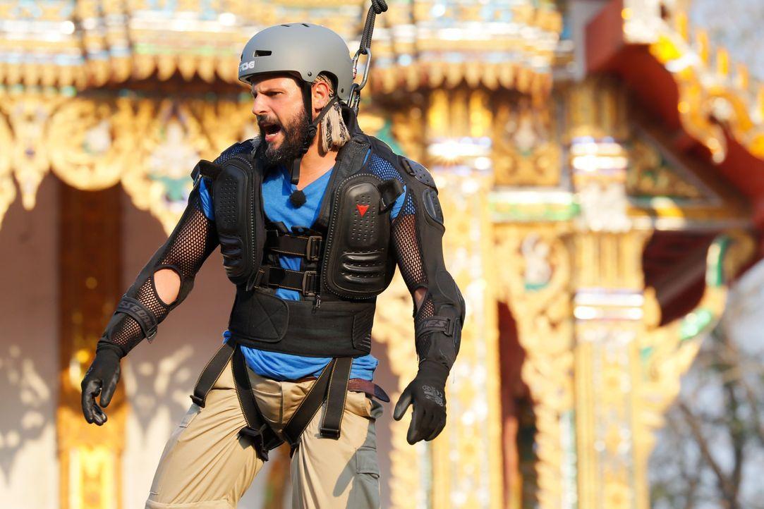 Global Gladiators Manuel Cortez (7) - Bildquelle: ProSieben/Richard Hübner
