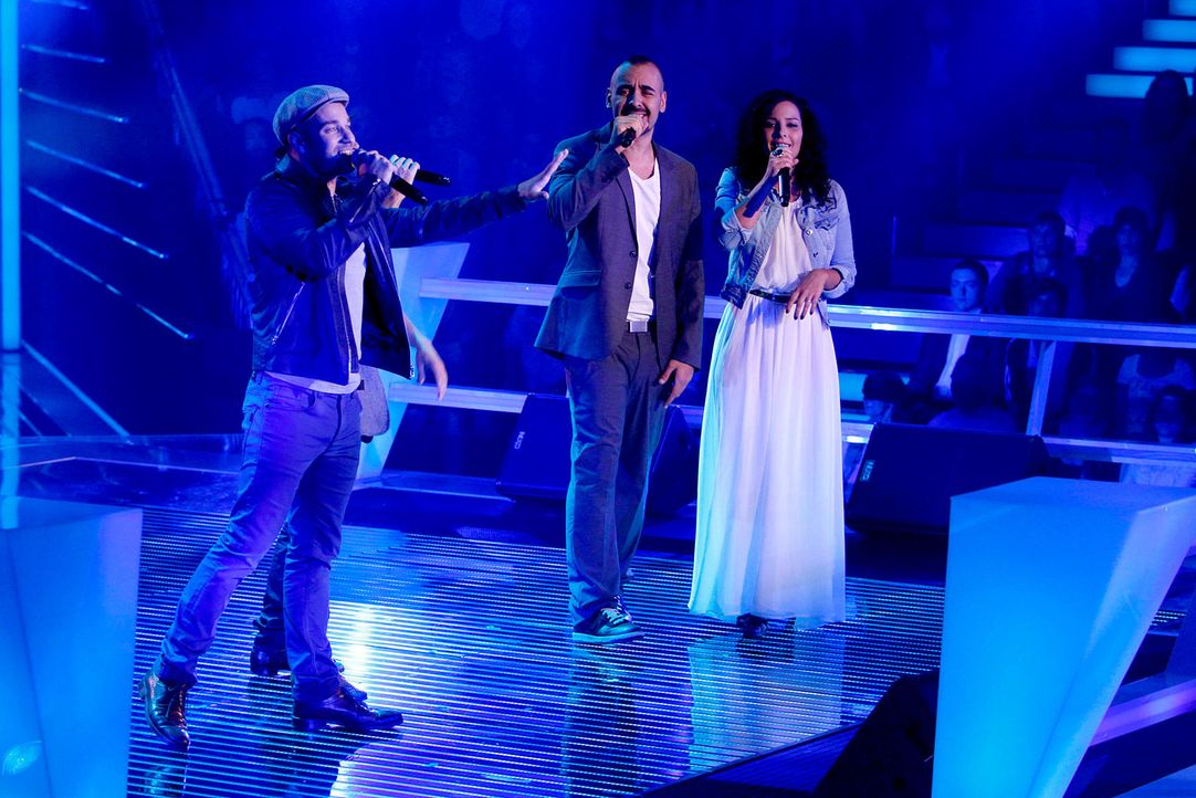 battle-manumatei-vs-sami-samira-06-the-voice-of-germany-richard-huebnerjpg 1700 x 1134 - Bildquelle: SAT1/ProSieben/Richard Hübner