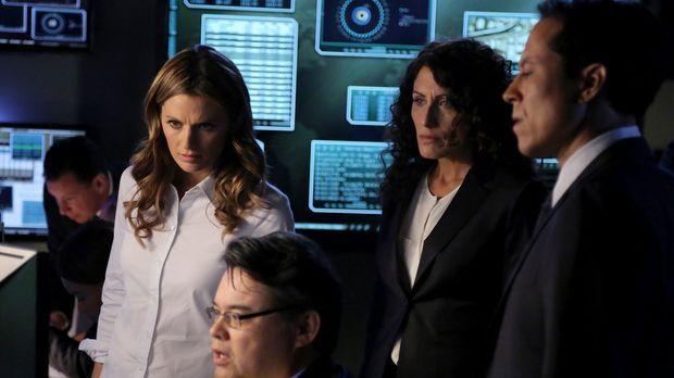 Im Wettlauf gegen die Zeit: Kate Beckett (Stana Katic, 2.v.l.), Agent Richmon...