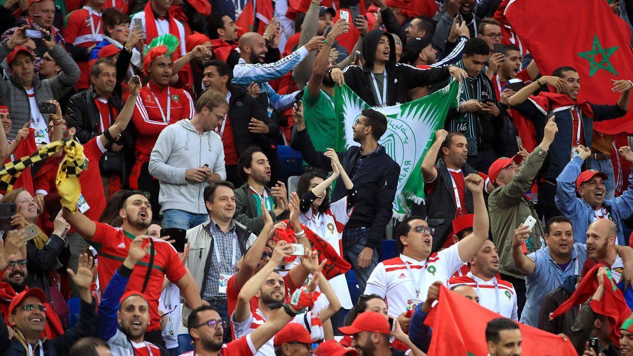 5. Marokko: 55.951 Euro wegen Fehlverhalten von Offiziellen und Fans - Bildquelle: imago/PA Images