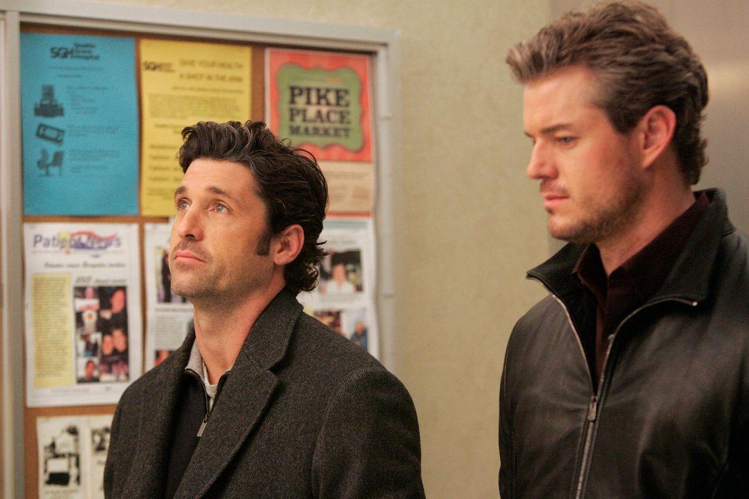 Klagen ihr Leid: Derek (Patrick Dempsey, l.) und Mark (Eric Dane, r.) ... - Bildquelle: Touchstone Television