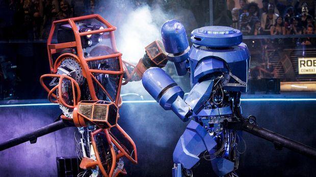 In der Robot Combat League messen sich die Könige der mechanischen Kampf-Kuns...