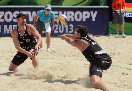 Beach Volleyball Live - EM Herren (1. Halbfinale) - Wer sind die besten Beach...