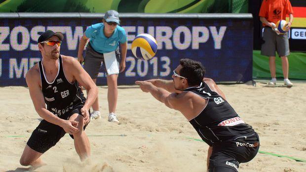 Wer sind die besten Beachvolleyballer des Kontinents? Bei der EM in Klagenfur...