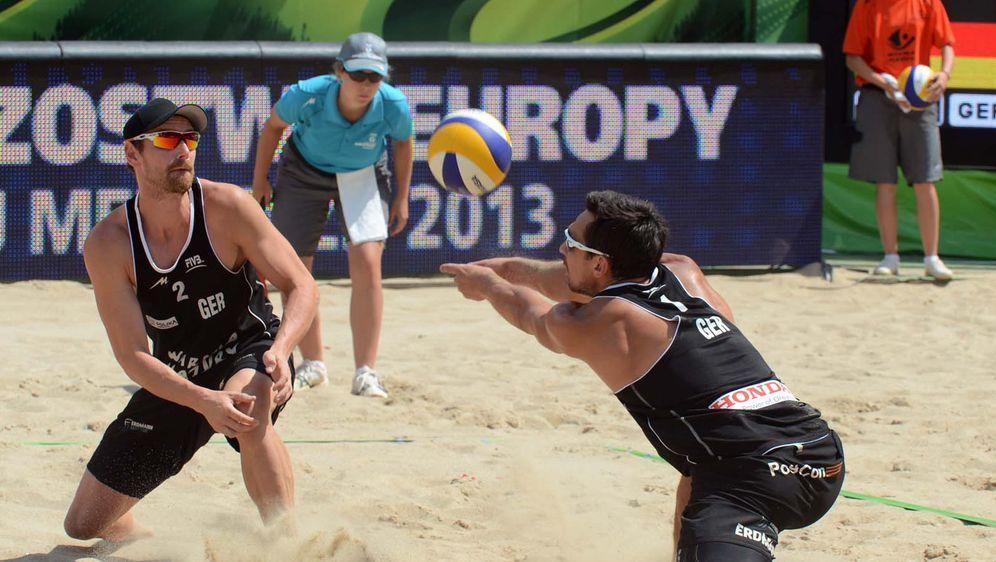 Beach Volleyball Live - EM Herren (1. Halbfinale) - Bildquelle: FIVB