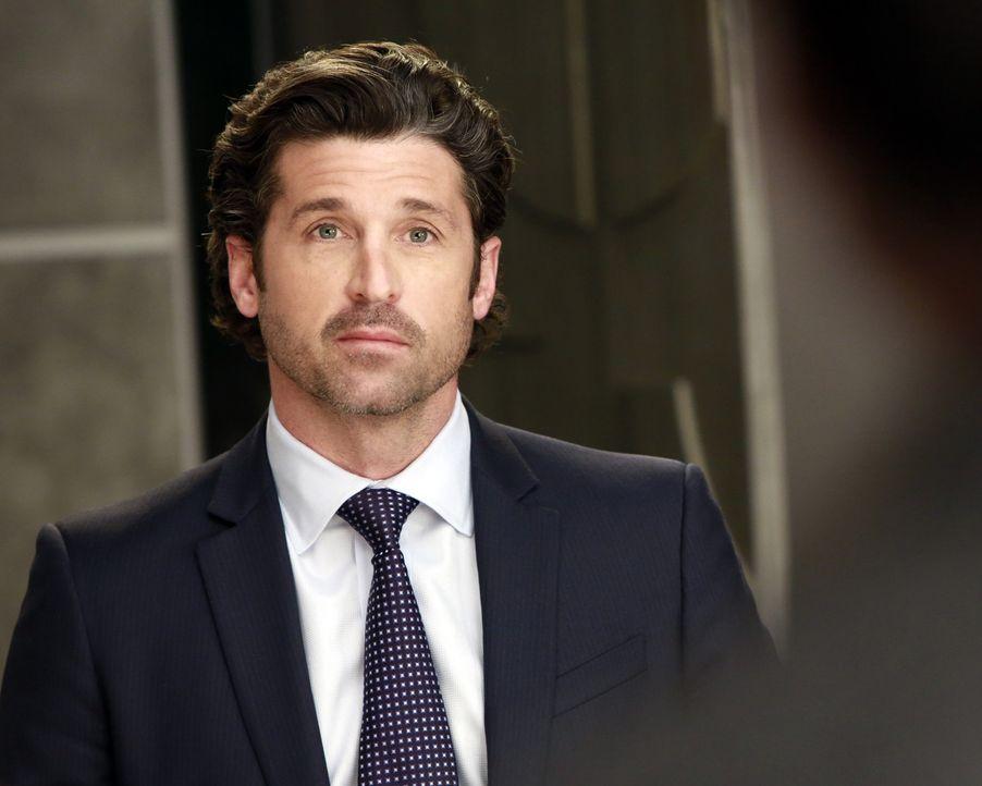 Dr. Derek Shepherd (Patrick Dempsey) muss überzeugen. Er möchte den obersten Boss seiner Bank überzeugen, ihm und seinen Kollegen Millionen von D... - Bildquelle: ABC Studios