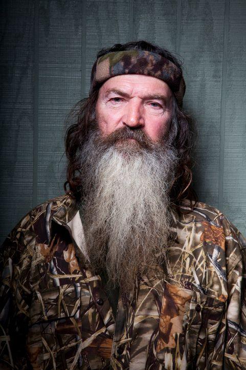 Wer hat wen ihm Griff? Phil (Phil Robertson) soll eigentlich auf seine Enkelinnen aufpassen ... - Bildquelle: Brian Bowen Smith 2012 A+E Networks