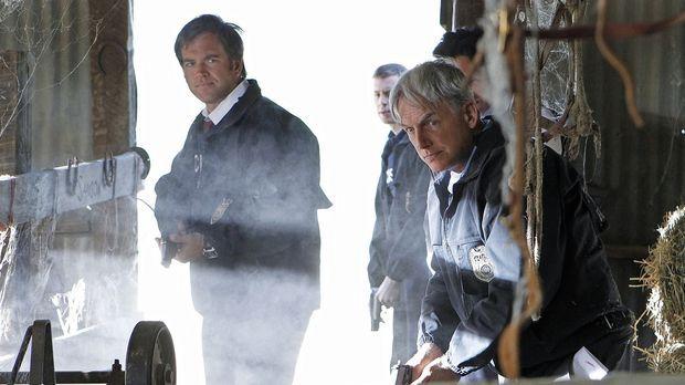 Ermitteln in einem neuen Fall: Tony (Michael Weatherly, l.), McGee (Sean Murr...
