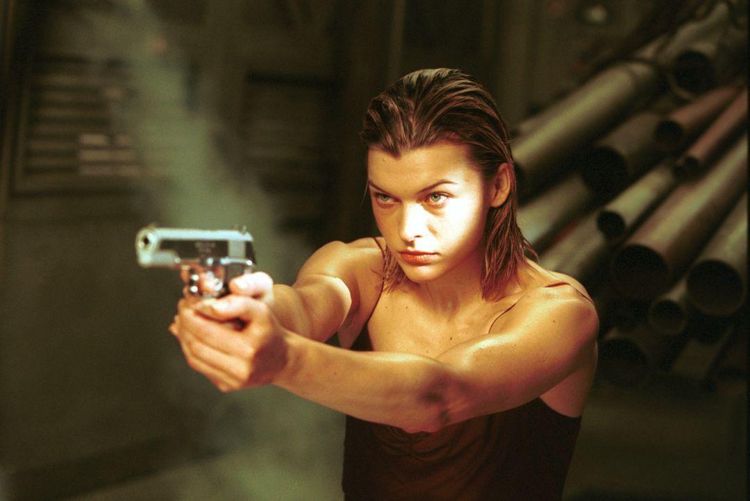 Schließlich muss Alice (Milla Jovovich) feststellen, dass genau das eingetreten ist, was sie immer befürchtet hat ... - Bildquelle: Constantin Film Verleih GmbH