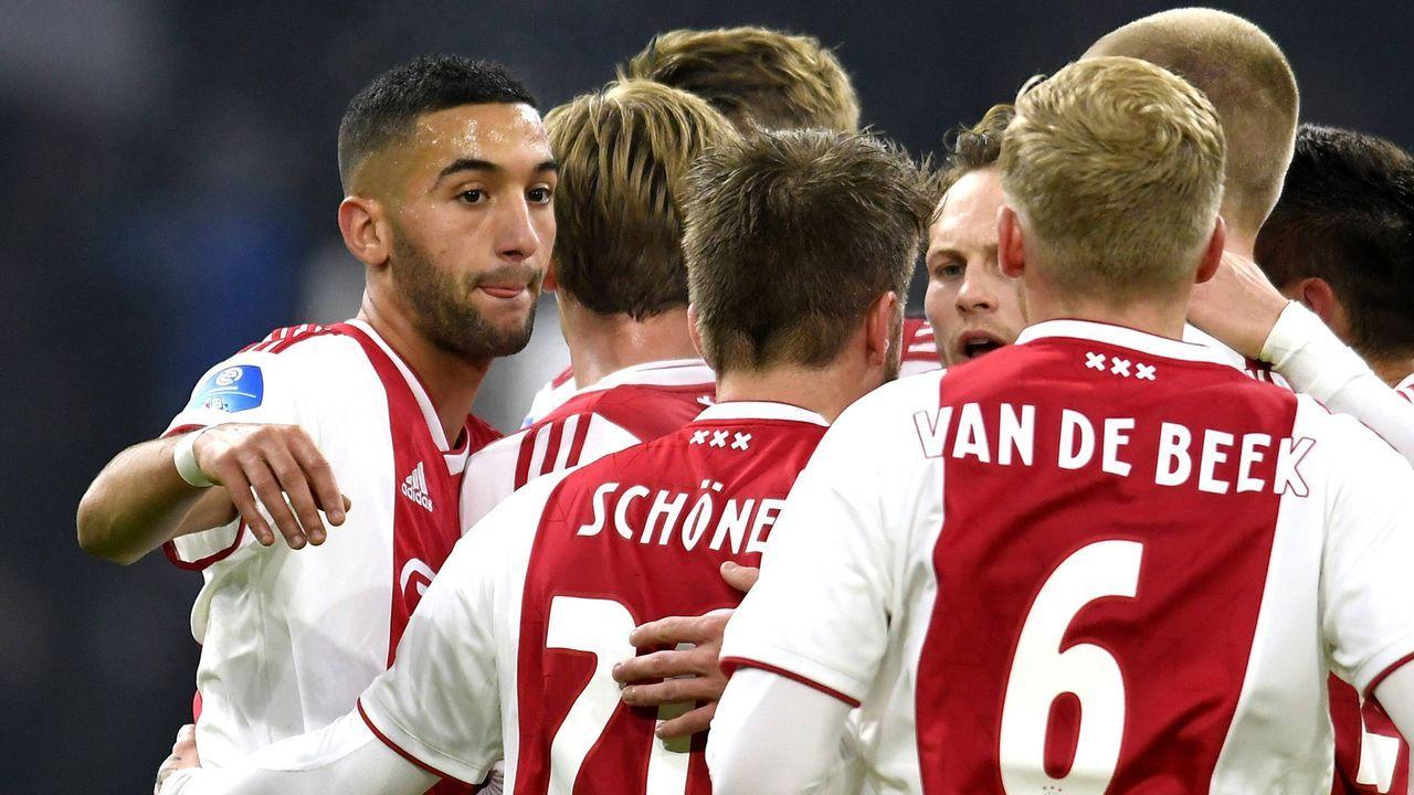Platz 10 - Ajax Amsterdam - Bildquelle: imago/AFLOSPORT
