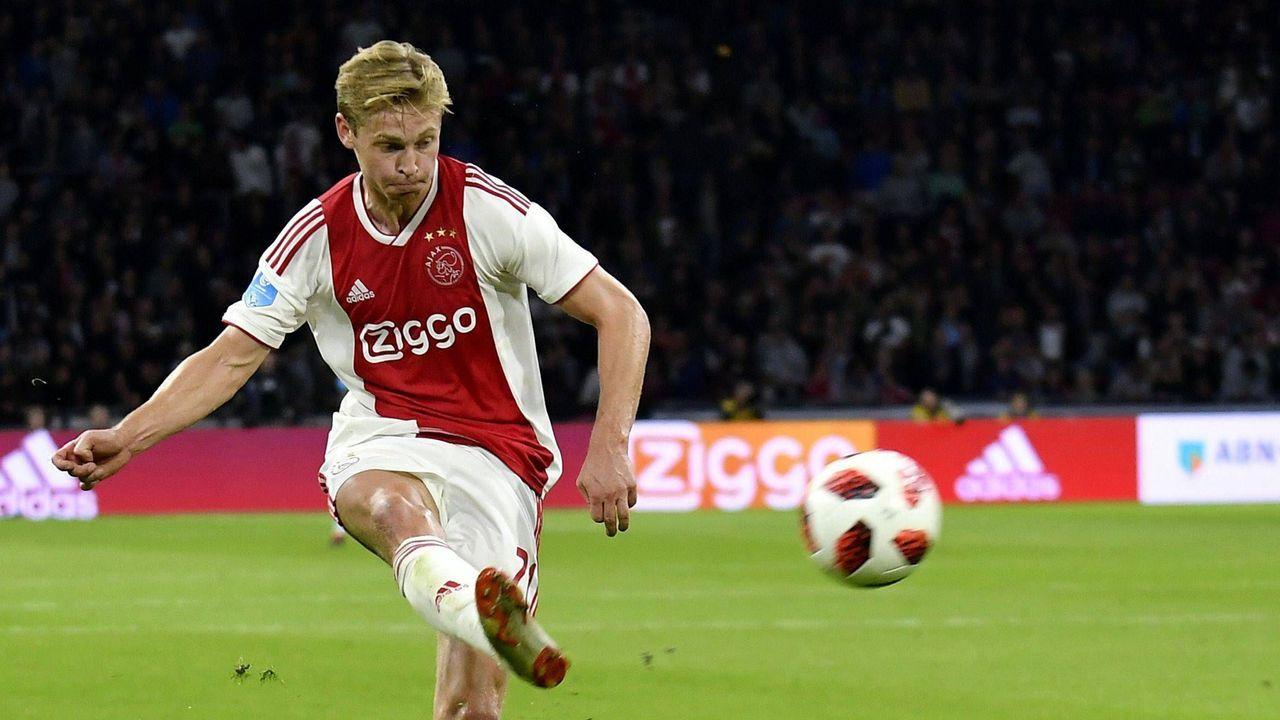Frenkie de Jong (Ajax Amsterdam) - Bildquelle: Imago