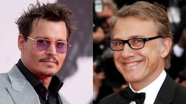 """Johnny Depp in """"Fluch der Karibik 5"""": Christoph Waltz als Bösewicht auf hoher..."""