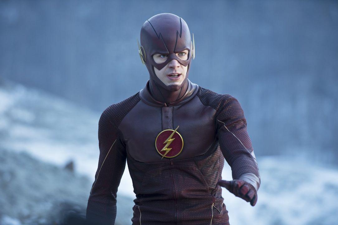Seitdem Barry alias The Flash (Grant Gustin) Linda Park kennengelernt hat, fällt es ihm noch schwerer, Arbeit und Privatleben zu trennen ... - Bildquelle: Warner Brothers.