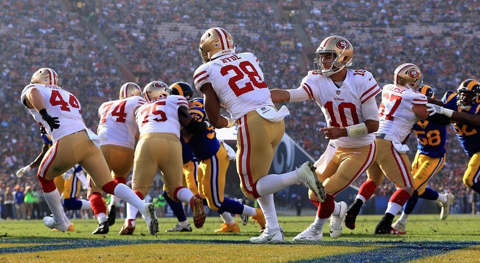San Francisco 49ers - Bildquelle: 2017 Getty Images