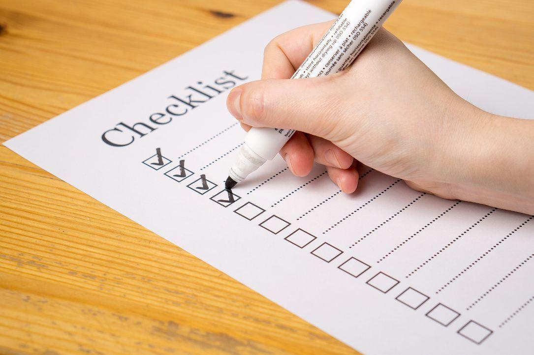 7. Packlisten sind in!Eine Packliste zu schreiben klingt spießig? Spätestens... - Bildquelle: Pixabay