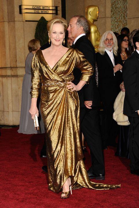 Meryl Streep bei den Oscars 2012 - Bildquelle: AFP